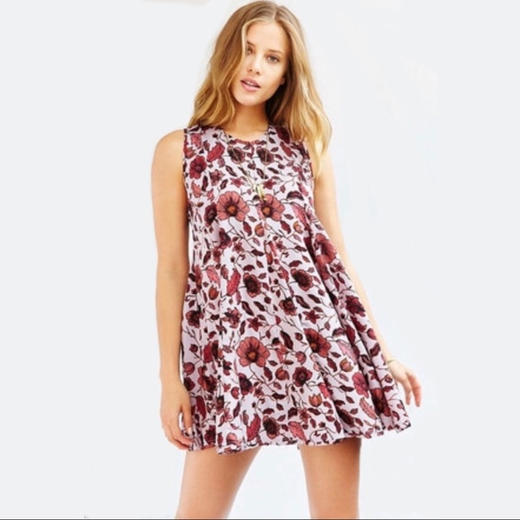 Urban Outfitters Dresses & Skirts - Ecote Clary Godet Trapeze Dress